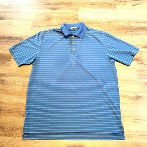 Peter Millar Men's Polo Tee Size XL Blue